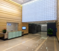 733 Tenth features lobby attendant and concierge services